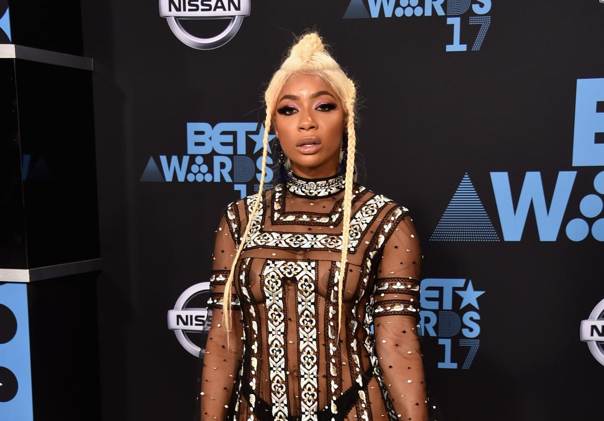 Tommie Lee at the 2017 BET Awards at Microsoft Square on June 25, 2017 in Los Angeles, California