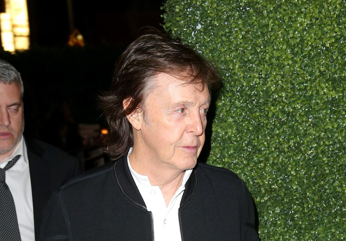 Paul McCartney at the republic records grammys celebration
