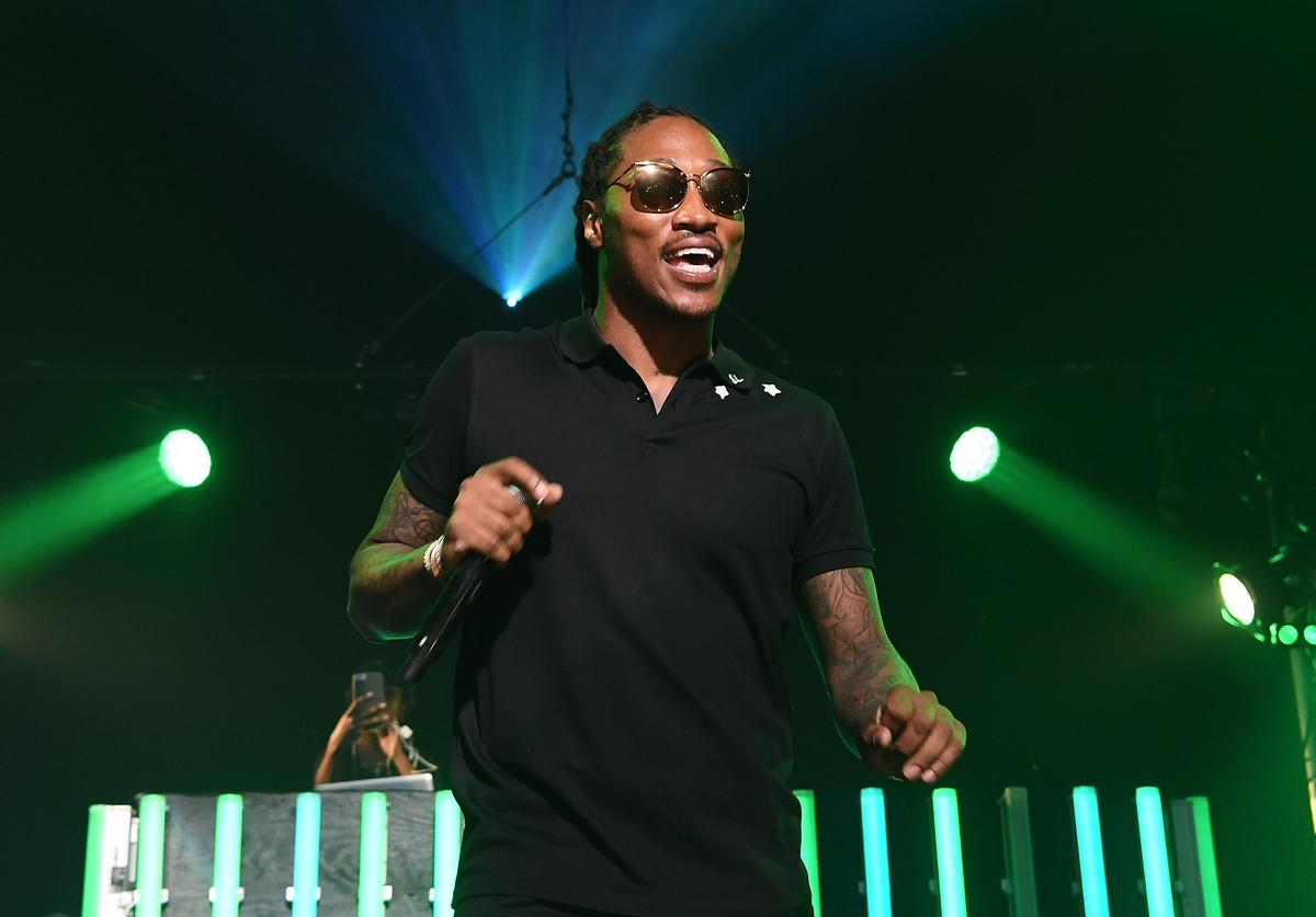 Future at Gucci Mane ATL Homecoming concert