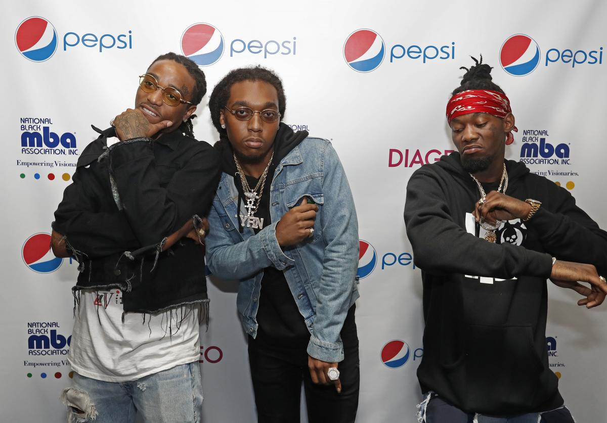 Migos at the 2nd annual Pepsi MBA Live event.