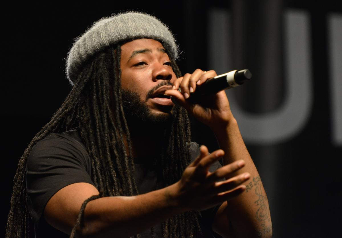 D.R.A.M. performing at Global Citizen Show Up And Vote concert.