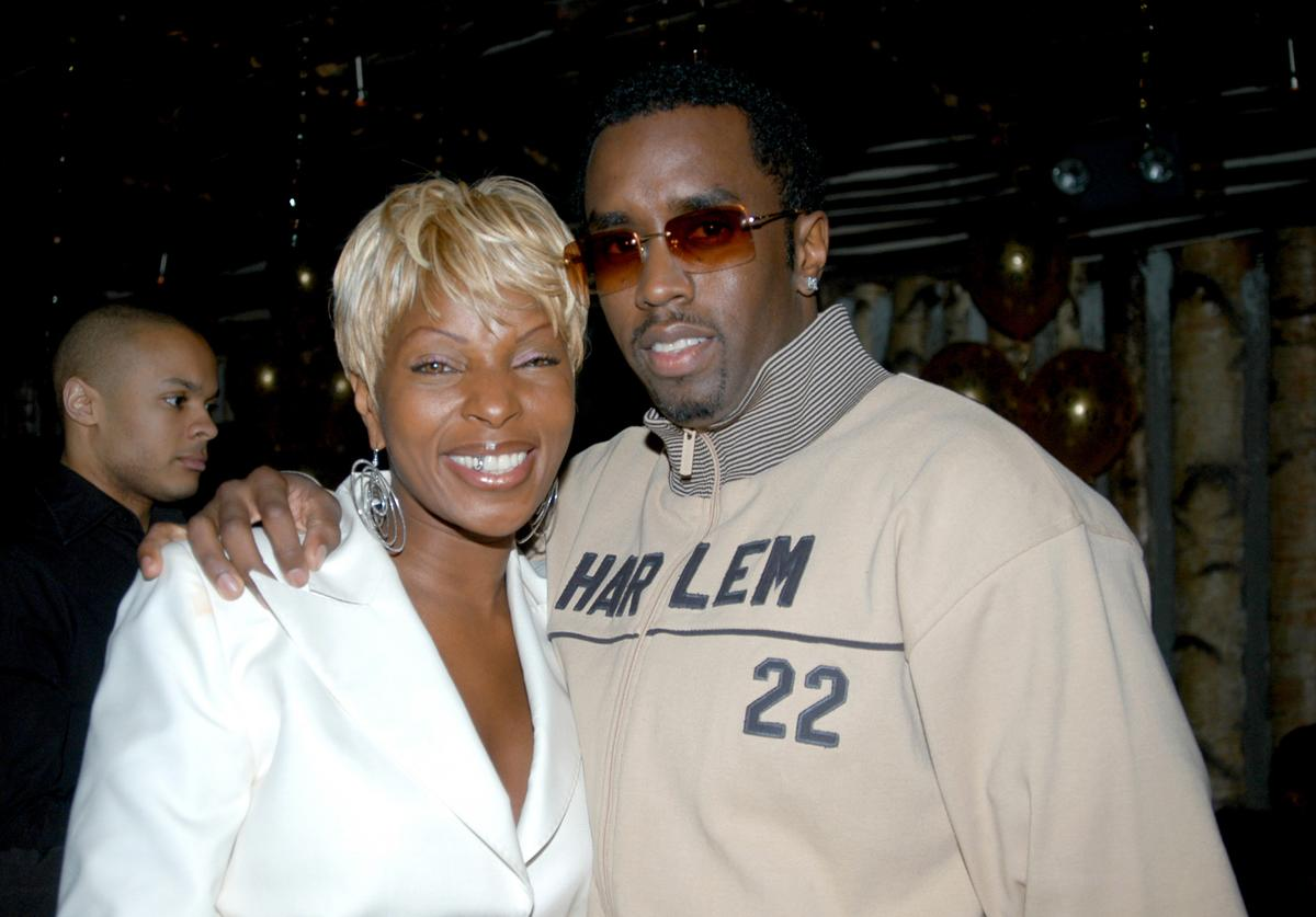 Mary J. Blige Puff Daddy