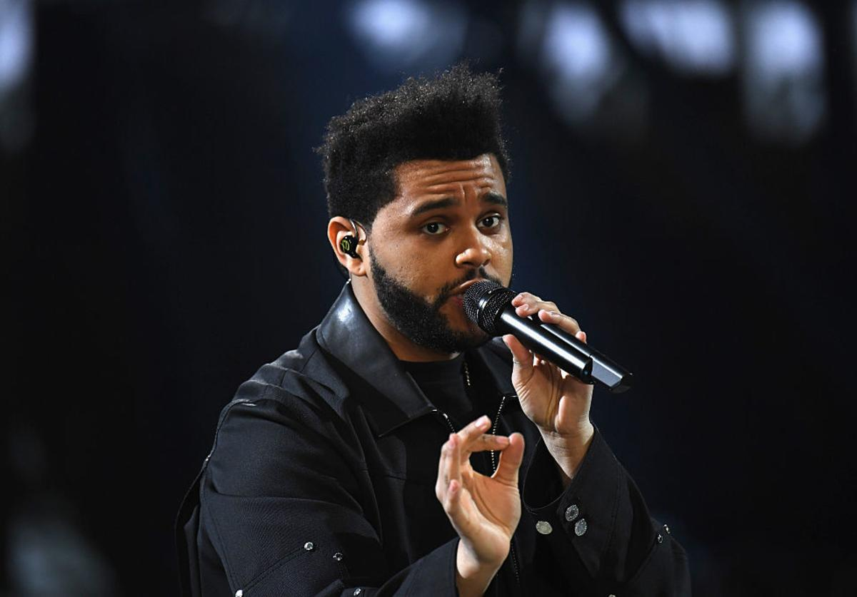 The Weeknd walks the runway at the Victoria's Secret Fashion Show on November 30, 2016 in Paris, France.