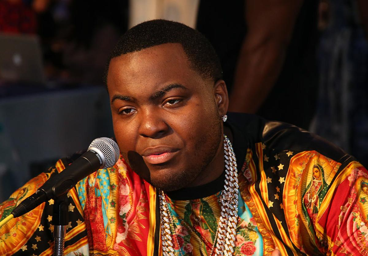 Sean Kingston attends Radio Remote Room Day 2 during the 2013 BET Awards at J.W. Marriot at L.A. Live on June 29, 2013 in Los Angeles, California.