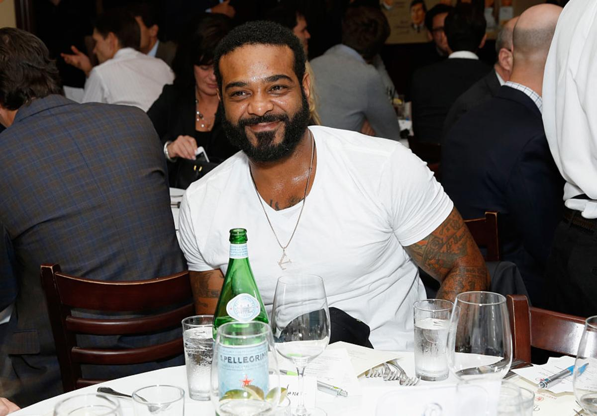 Jim Jones attends Jerry Seinfeld hosts lunch to support the Baby Buggy Fatherhood Initiative sponsored by Acura, Gucci, and Johnson & Johnson at The Palm Tribeca on September 23, 2014 in New York City.