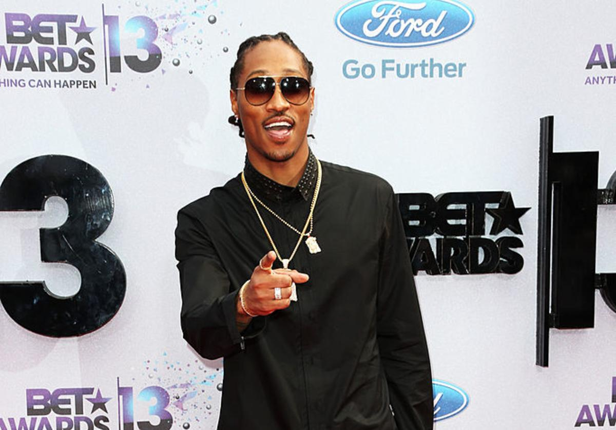 Future attends the 2013 BET Awards at Nokia Theatre L.A. Live on June 30, 2013 in Los Angeles, California.