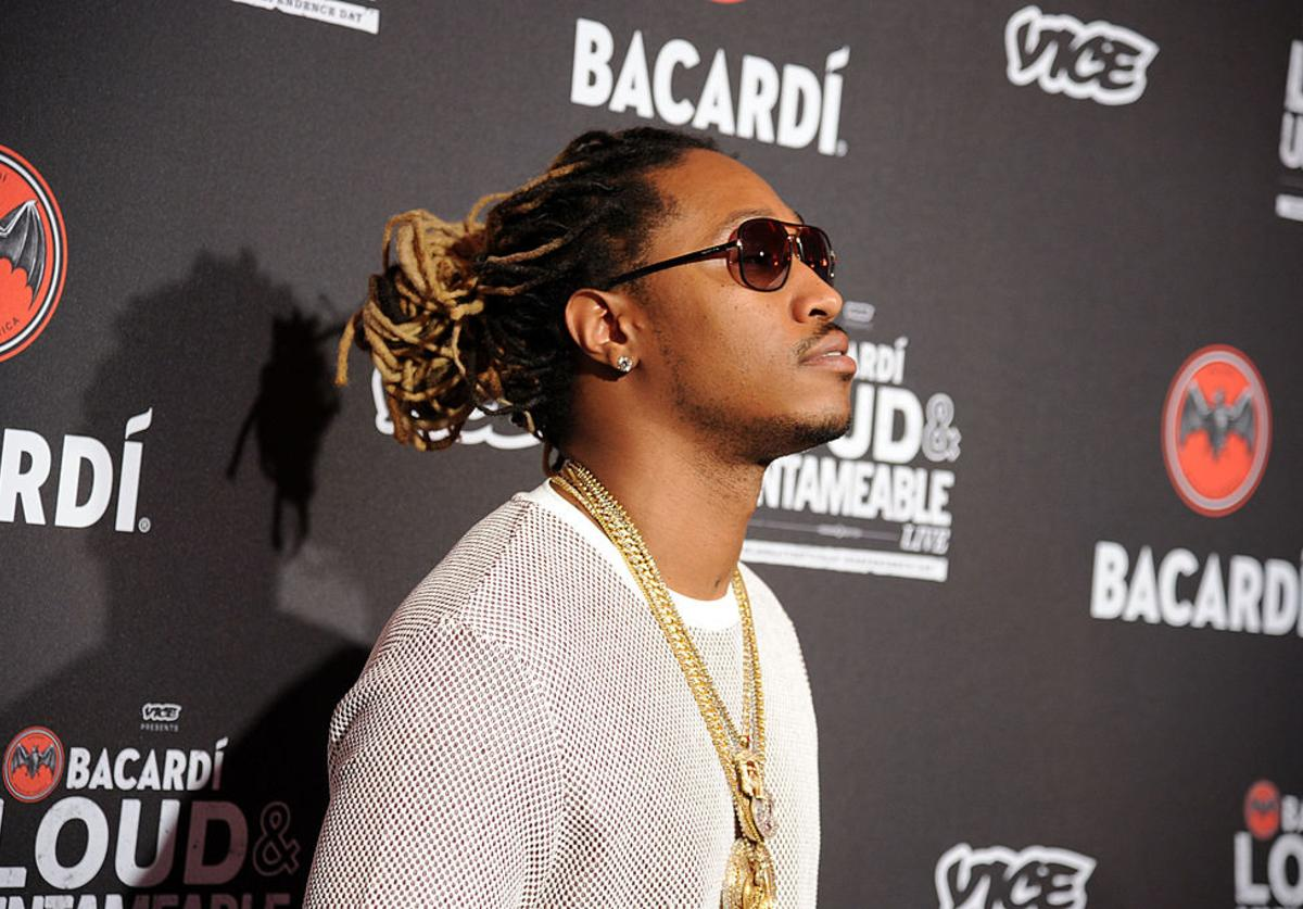 Future attends Cuban Independence Day celebration hosted by VICE and Bacardi at Weylin B. Seymour's on May 20, 2014 in New York City.