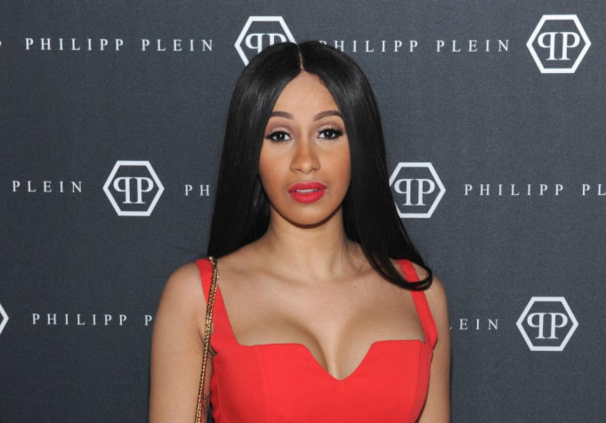 Cardi B attends the Philipp Plein Fall/Winter 2017/2018 Women's And Men's Fashion Show at The New York Public Library on February 13, 2017 in New York City.