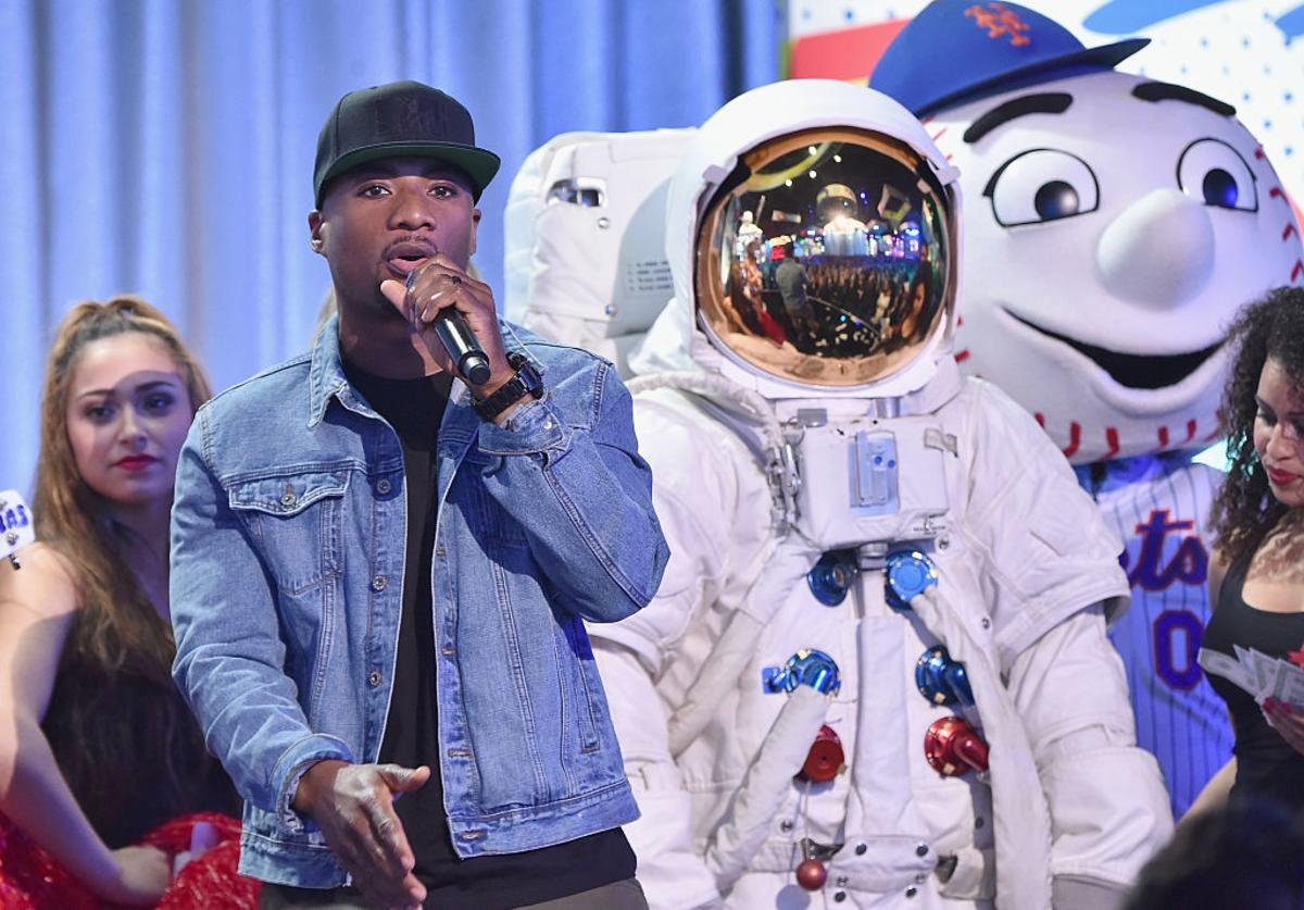 Charlamagne Tha God speaks at the 2016 MTV Upfront at Skylight At Moynihan Station at Skylight at Moynihan Station on April 21, 2016 in New York City.