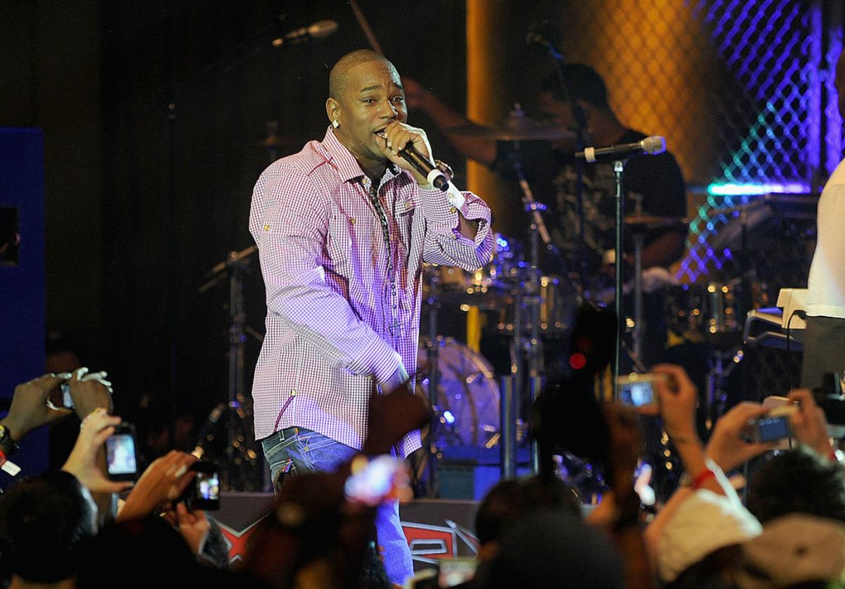 Cam'ron performs at a One Night Only show for AXE Music at Capitale on August 16, 2010 in New York City.
