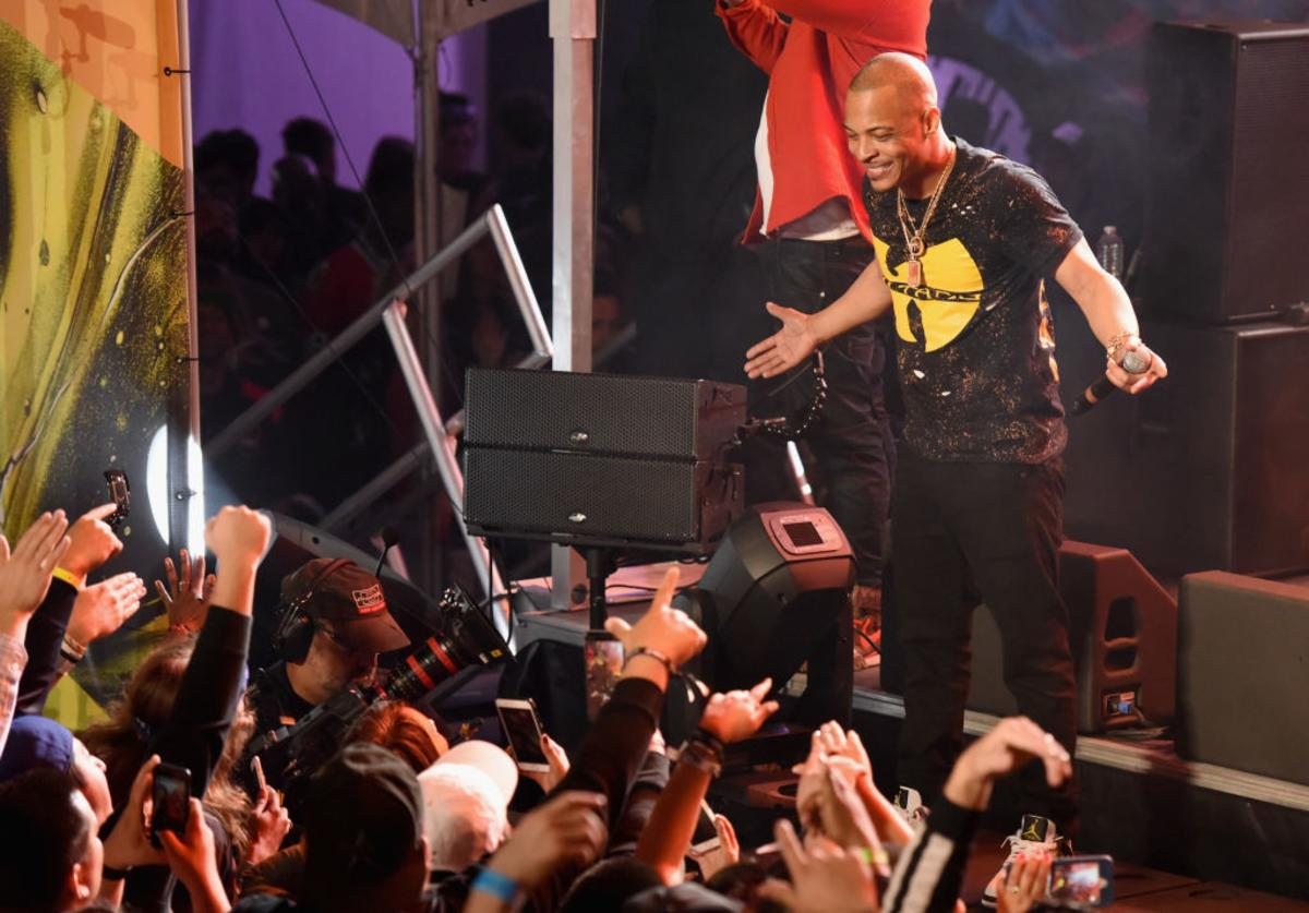 T.I. performs onstage during Pandora at SXSW 2017 on March 14, 2017 in Austin, Texas.