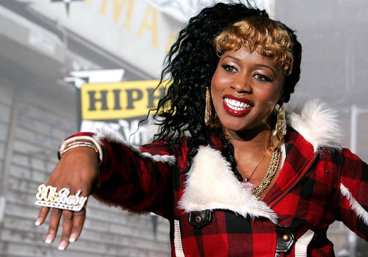 Remy Ma attends the VH1 Hip Hop Honors 2006 at the Hammerstein Ballroom October 7, 2006 in New York City.