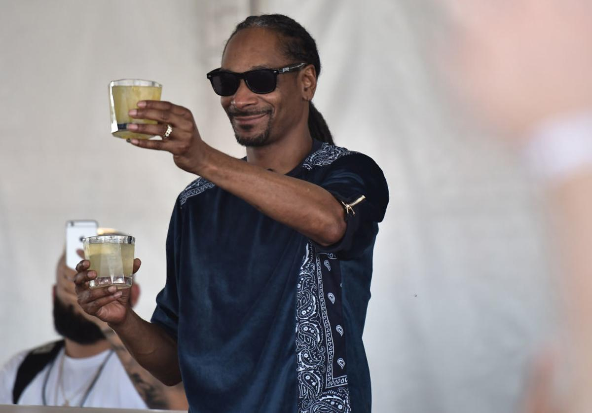 Snoop Dogg attends Goya Foods' Grand Tasting Village Featuring Mastercard Grand Tasting Tents & KitchenAid Culinary Demonstrations on February 25, 2017 in Miami Beach, Florida.