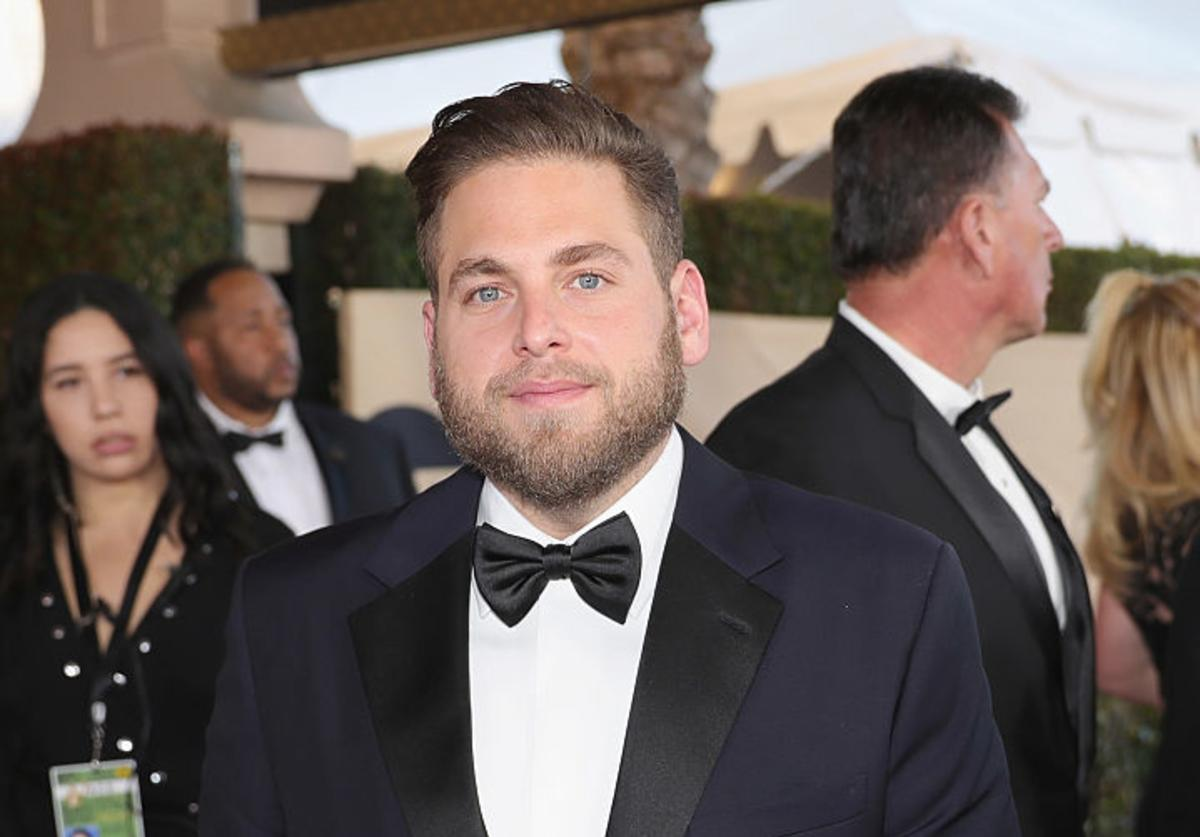 Actor Jonah Hill attends the 23rd Annual Screen Actors Guild Awards at The Shrine Expo Hall on January 29, 2017 in Los Angeles, California.