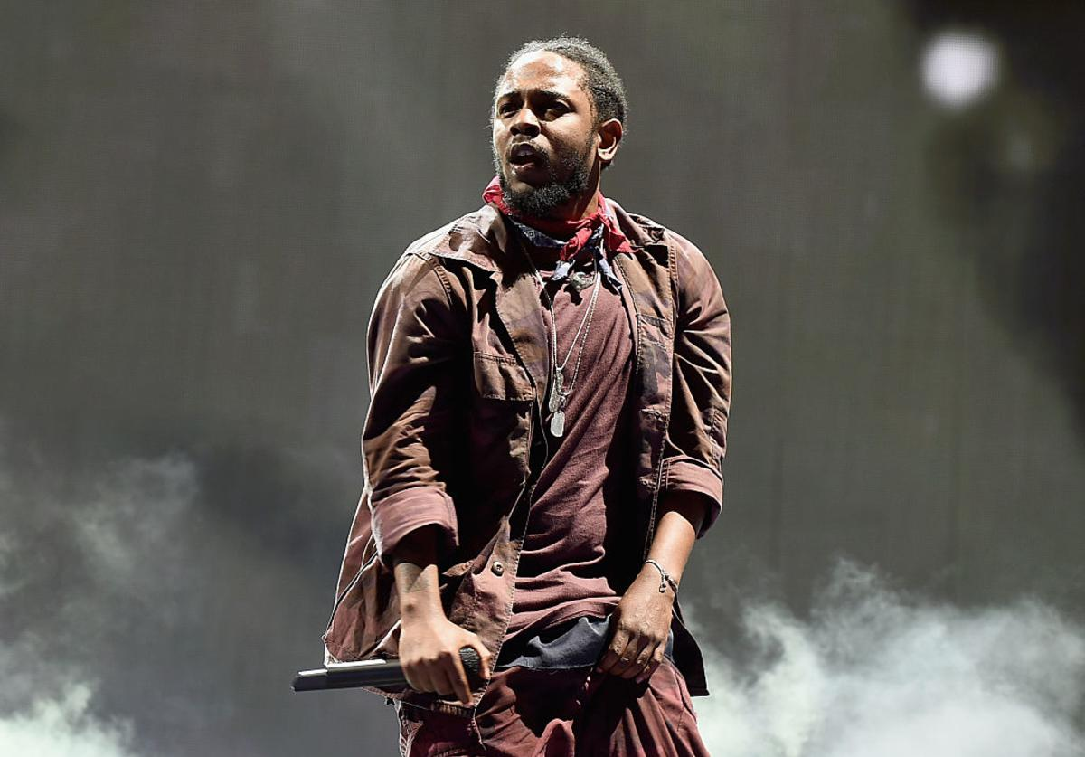 Kendrick Lamar performs at the 2016 Panorama NYC Festival - Day 2 at Randall's Island on July 23, 2016 in New York City.