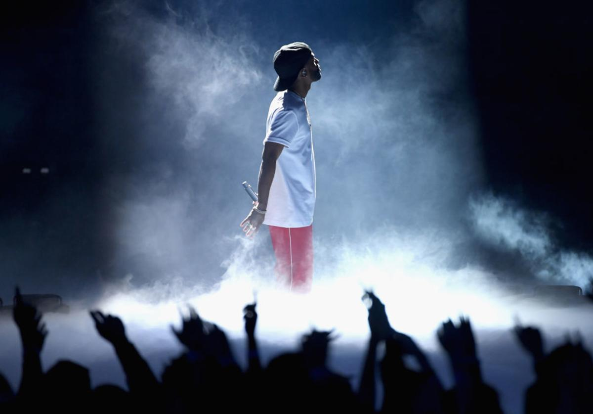 Big Sean performs onstage at the 2017 iHeartRadio Music Awards which broadcast live on Turner's TBS, TNT, and truTV at The Forum on March 5, 2017 in Inglewood, California.