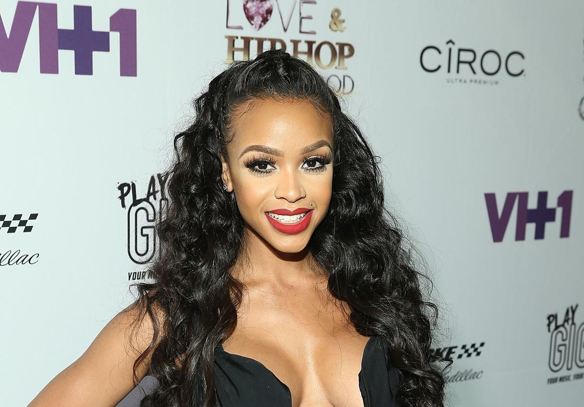 TV personality Masika Kalysha attends the Love & Hip Hop: Hollywood Premiere Event on September 9, 2014 in Hollywood, California