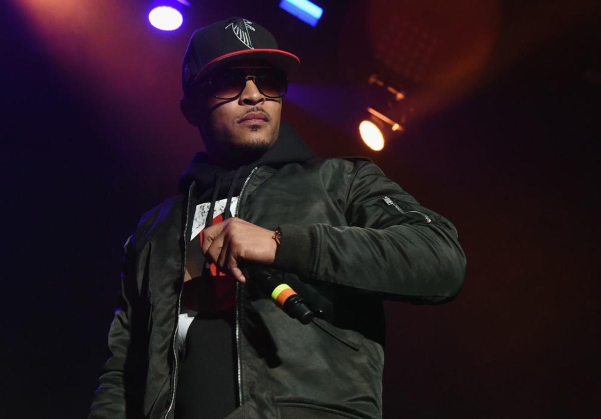 T.I. performs during V-103 Live Pop Up Concert at Philips Arena on March 25, 2017 in Atlanta, Georgia.