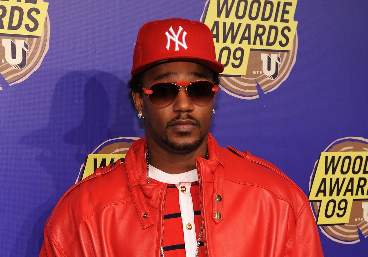 Cam'ron at 2009 mtvU Woodie Awards