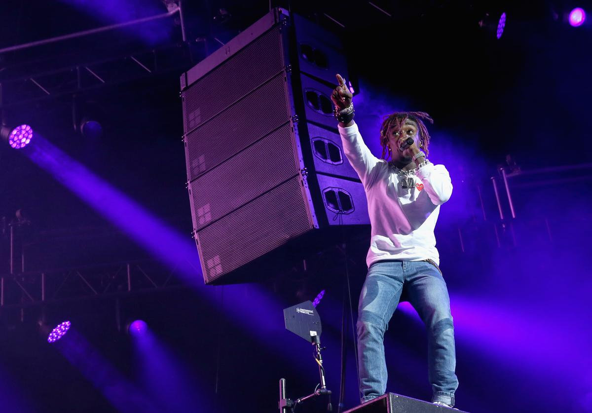 Lil Uzi Vert at  2017 BET Experience STAPLES Center