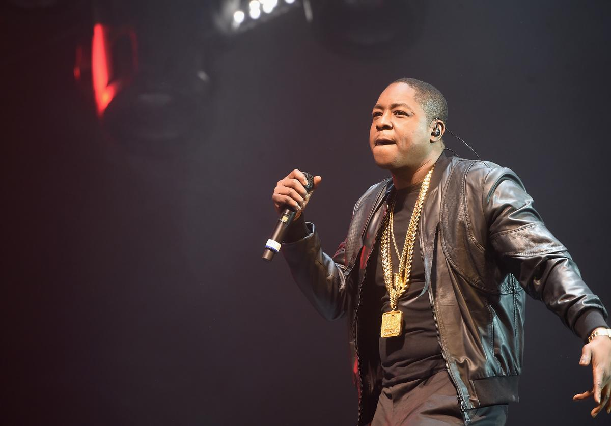 Jadakiss performs at The Family Bad Boy Reunion Tour
