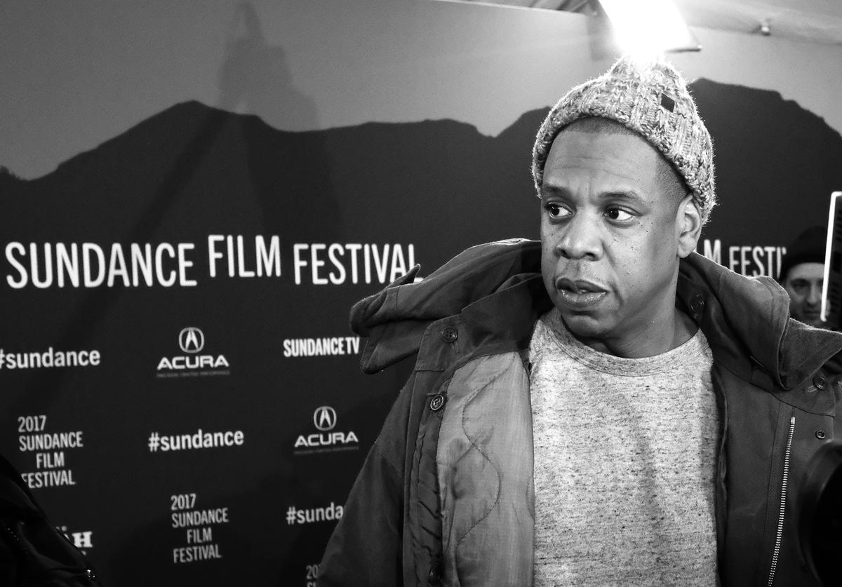 Jay Z attends the 'Time: The Kalief Browder Story' Premiere