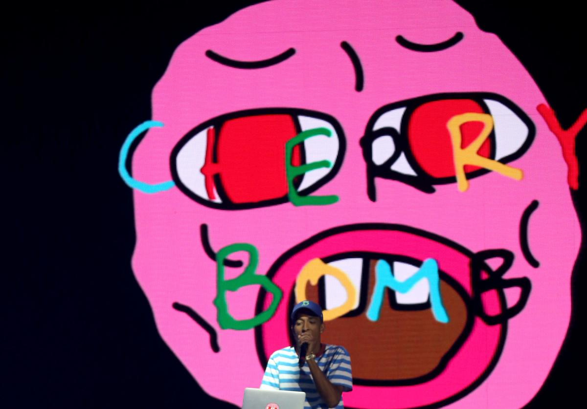 Tyler, The Creator performs onstage during day 2 of the 2015 Coachella Valley Music And Arts Festival