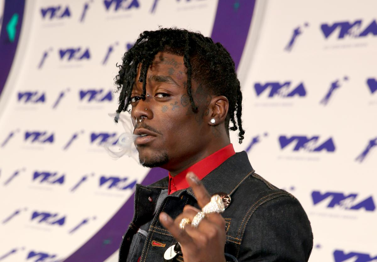 Lil Uzi Vert attends the 2017 MTV Video Music Awards at The Forum on August 27, 2017 in Inglewood, California.