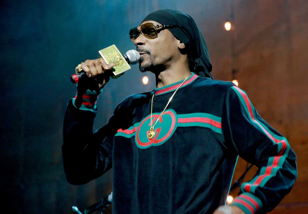 Snoop Dogg performs at Jimmy Kimmel's post-show after-party for Hollywood's biggest night at The Lot on March 4, 2018 in West Hollywood, California.