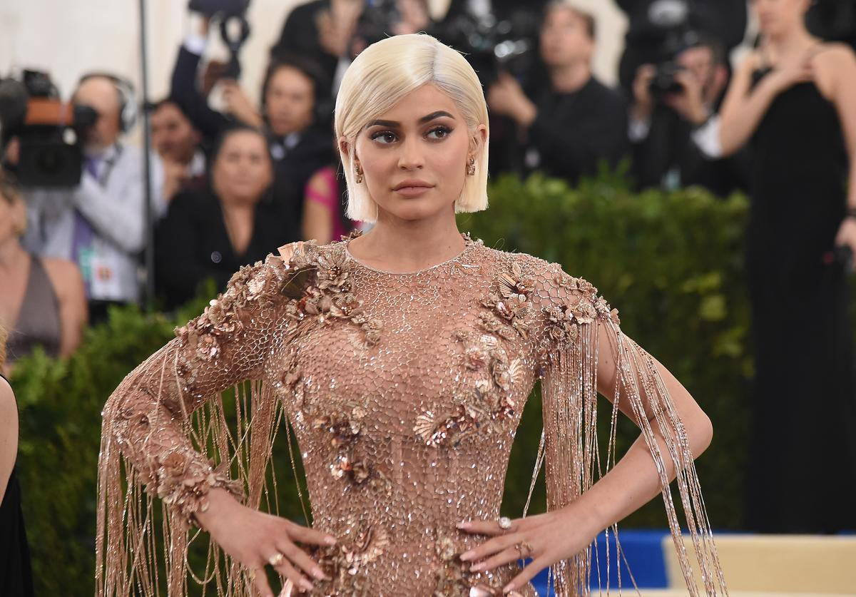 Kylie Jenner attends the 'Rei Kawakubo/Comme des Garcons: Art Of The In-Between' Costume Institute Gala at Metropolitan Museum of Art on May 1, 2017 in New York City