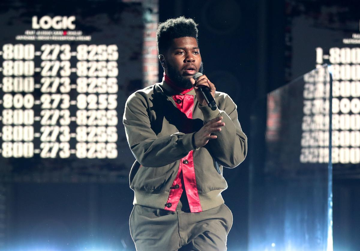 Recording artist Khalid performs onstage at the 60th Annual GRAMMY Awards at Madison Square Garden on January 28, 2018 in New York City.