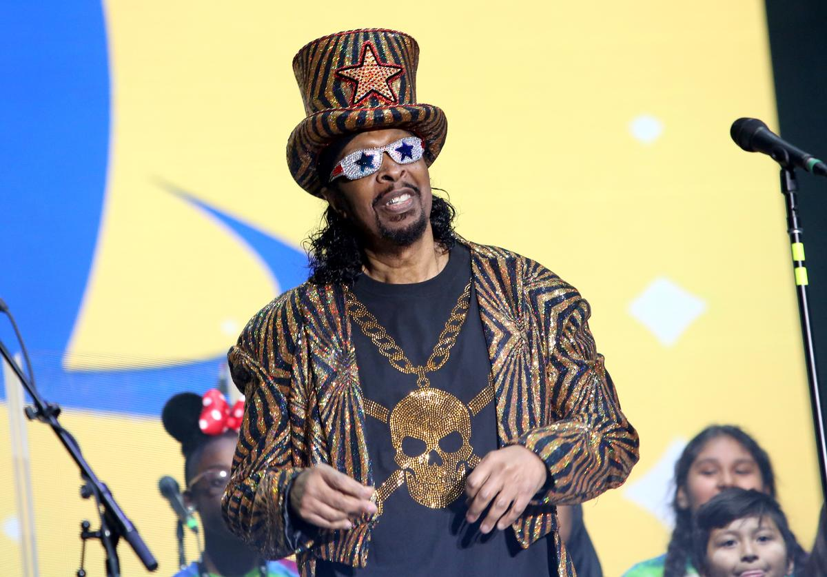 Musician Bootsy Collins onstage at The 2018 NAMM Show at Anaheim Convention Center on January 27, 2018 in Anaheim, California.