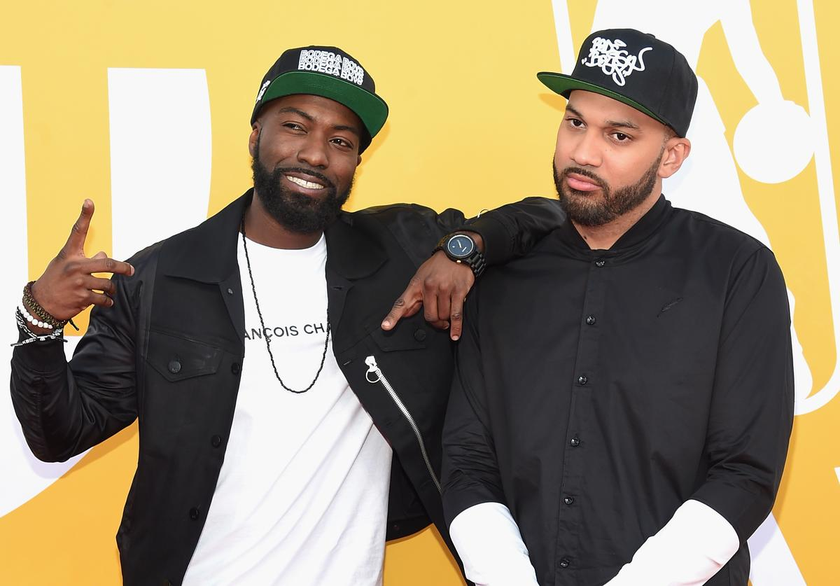 Desus and The Kid Mero attend the 2017 NBA Awards live on TNT on June 26, 2017 in New York, New York.