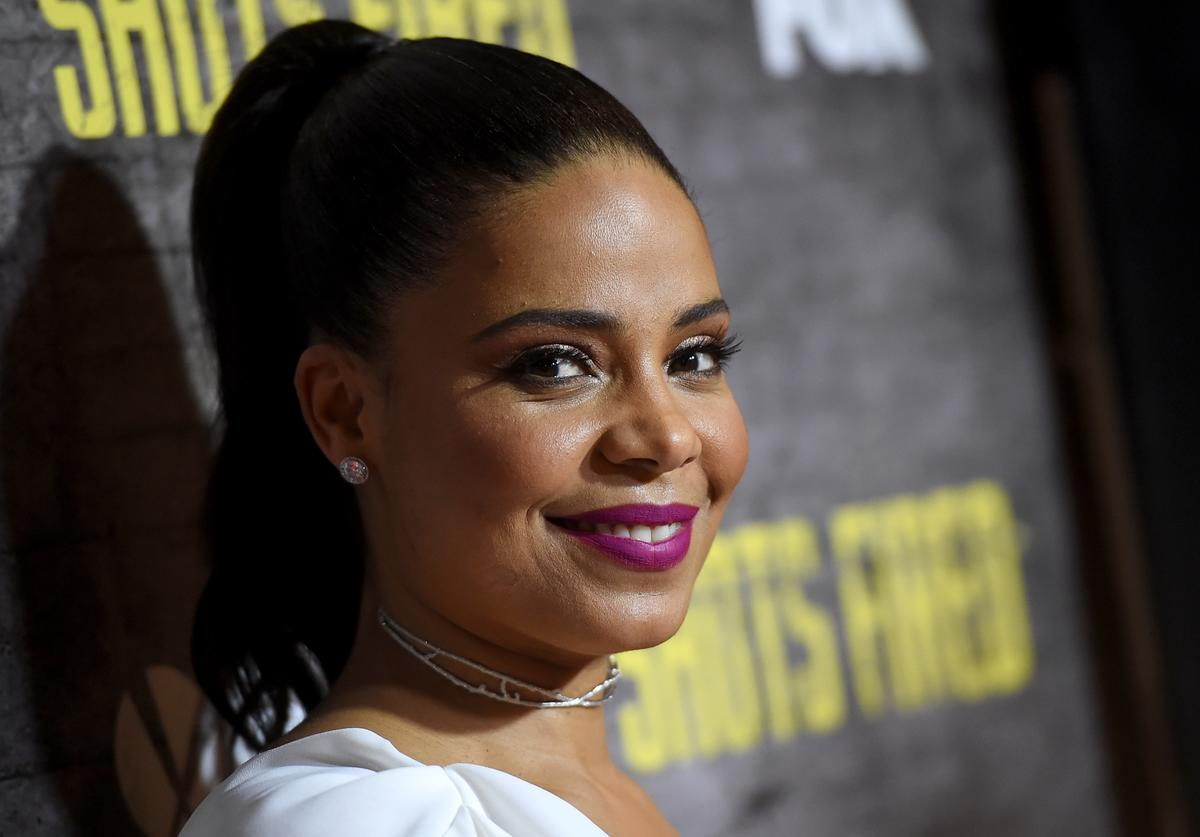 Sanaa Lathan arrives at a screening and Q&A for FOX TV's 'Shots Fired' at the Pacific Design Center on March 16, 2017 in West Hollywood, California
