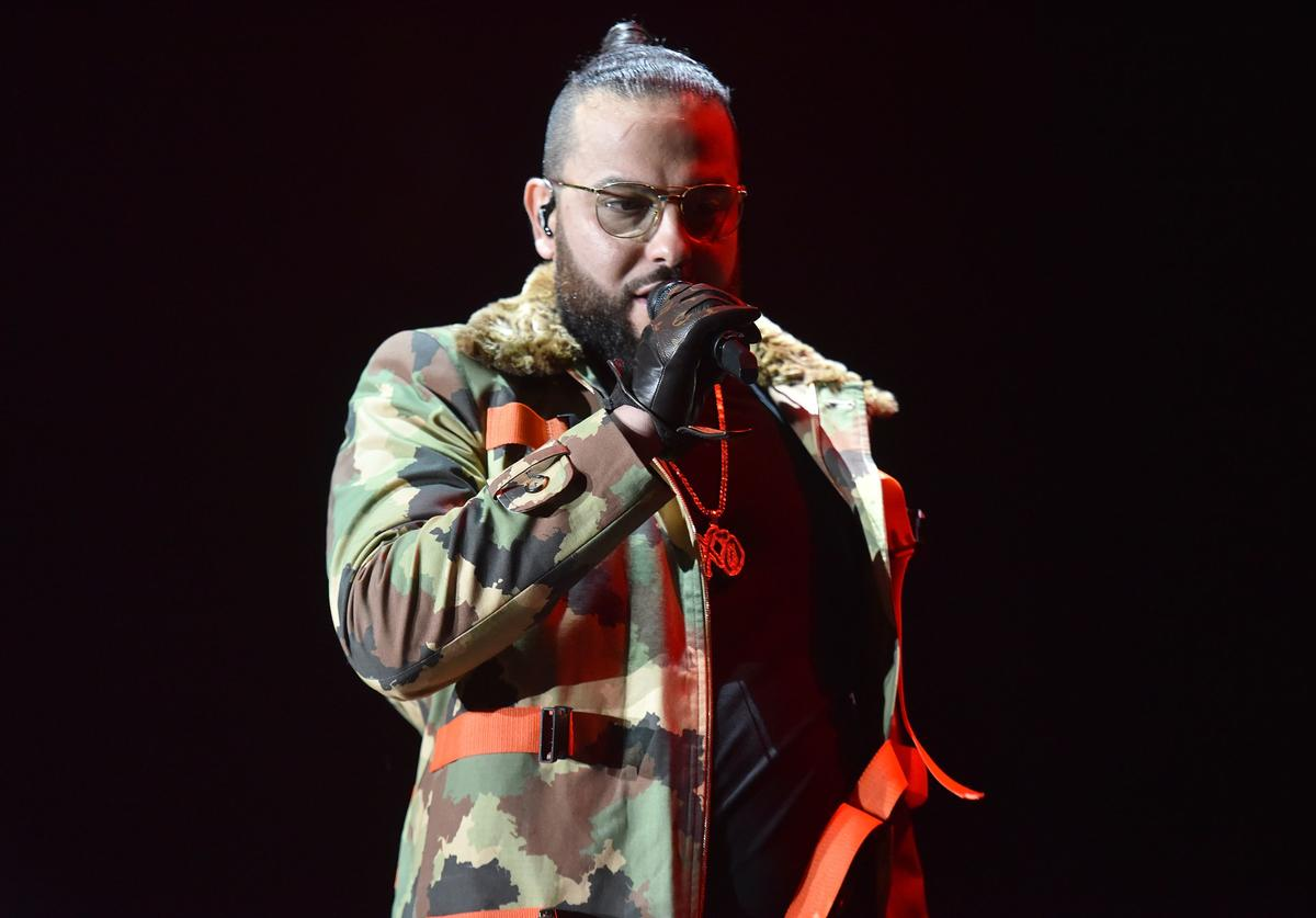 Belly performs onstage during the Real 92.3 Real Show at The Forum on November 18, 2017 in Inglewood, California