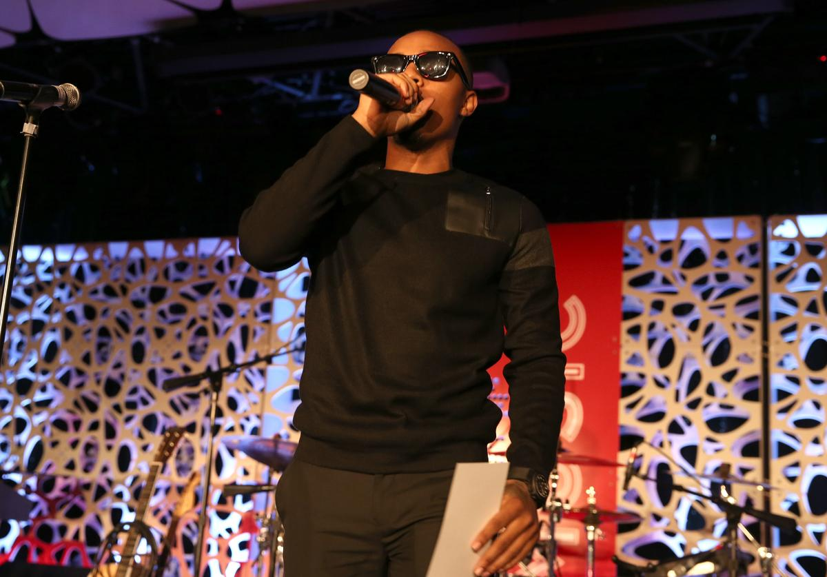 Bow Wow speaks at the 2015 American Music Awards Pre Party with Coca-Cola at the Conga Room on November 20, 2015 in Los Angeles, California