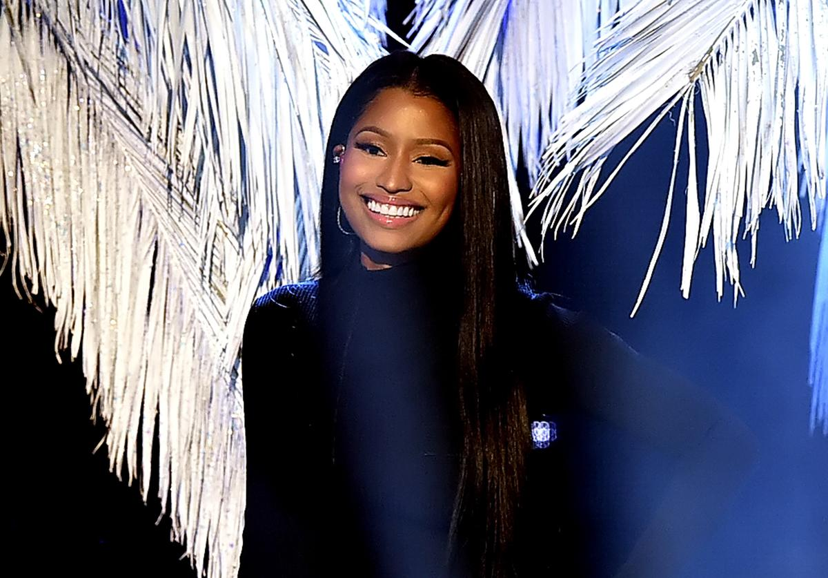 Singer Nicki Minaj performs onstage during the 2016 American Music Awards at Microsoft Theater on November 20, 2016 in Los Angeles, California.
