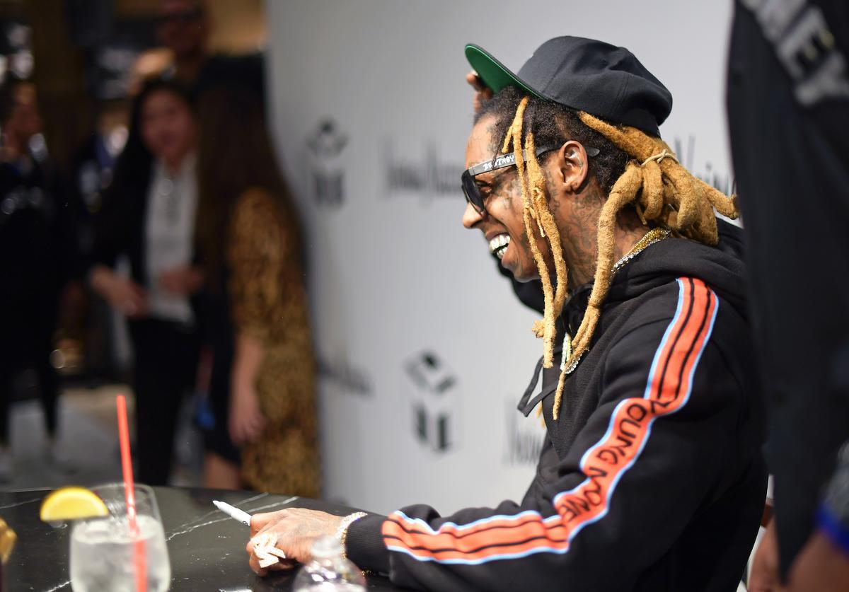 Lil Wayne attends Neiman Marcus x Young Money Launch at Neiman Marcus Beverly Hills on February 16, 2018 in Beverly Hills, California