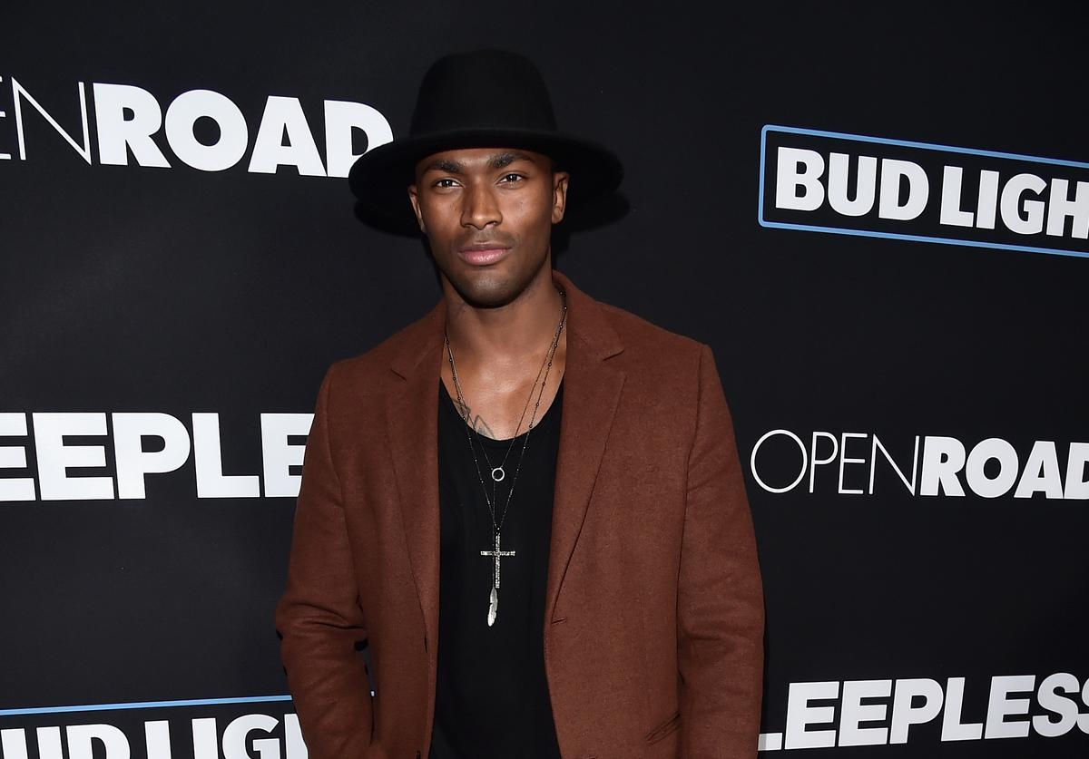Actor Keith Carlos attends the Premiere of Open Road Films' 'Sleepless' at Regal LA Live Stadium 14 on January 5, 2017 in Los Angeles, California.