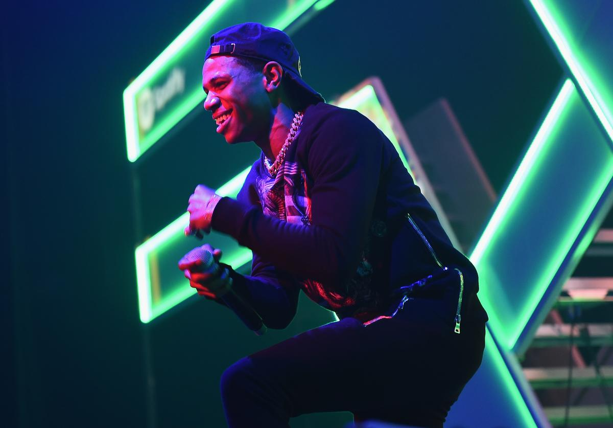 A Boogie wit da Hoodie attends Spotify's RapCaviar Live in New York at Hammerstein Ballroom on November 21, 2017 in New York City