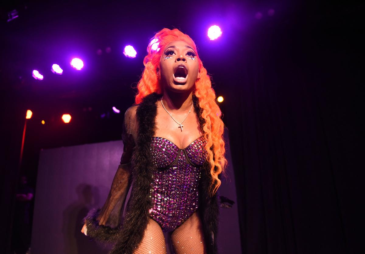 Asian Doll performs onstage as a special guest at The Roxy Theatre on June 14, 2018 in West Hollywood, California