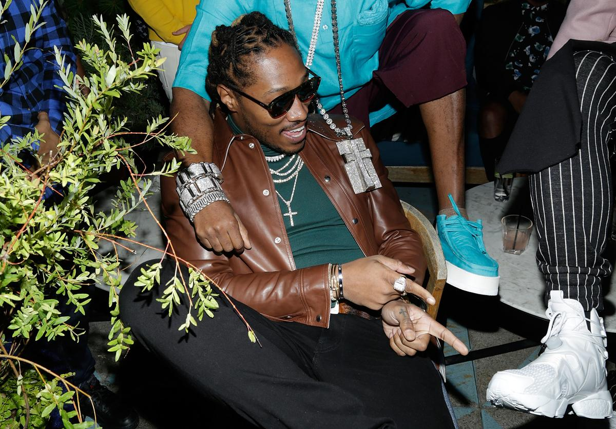 Future attends the Flaunt and Reebok 'The Eternal Issue' celebration hosted by Future at Sixty Hotel Soho on September 8, 2017 in New York City
