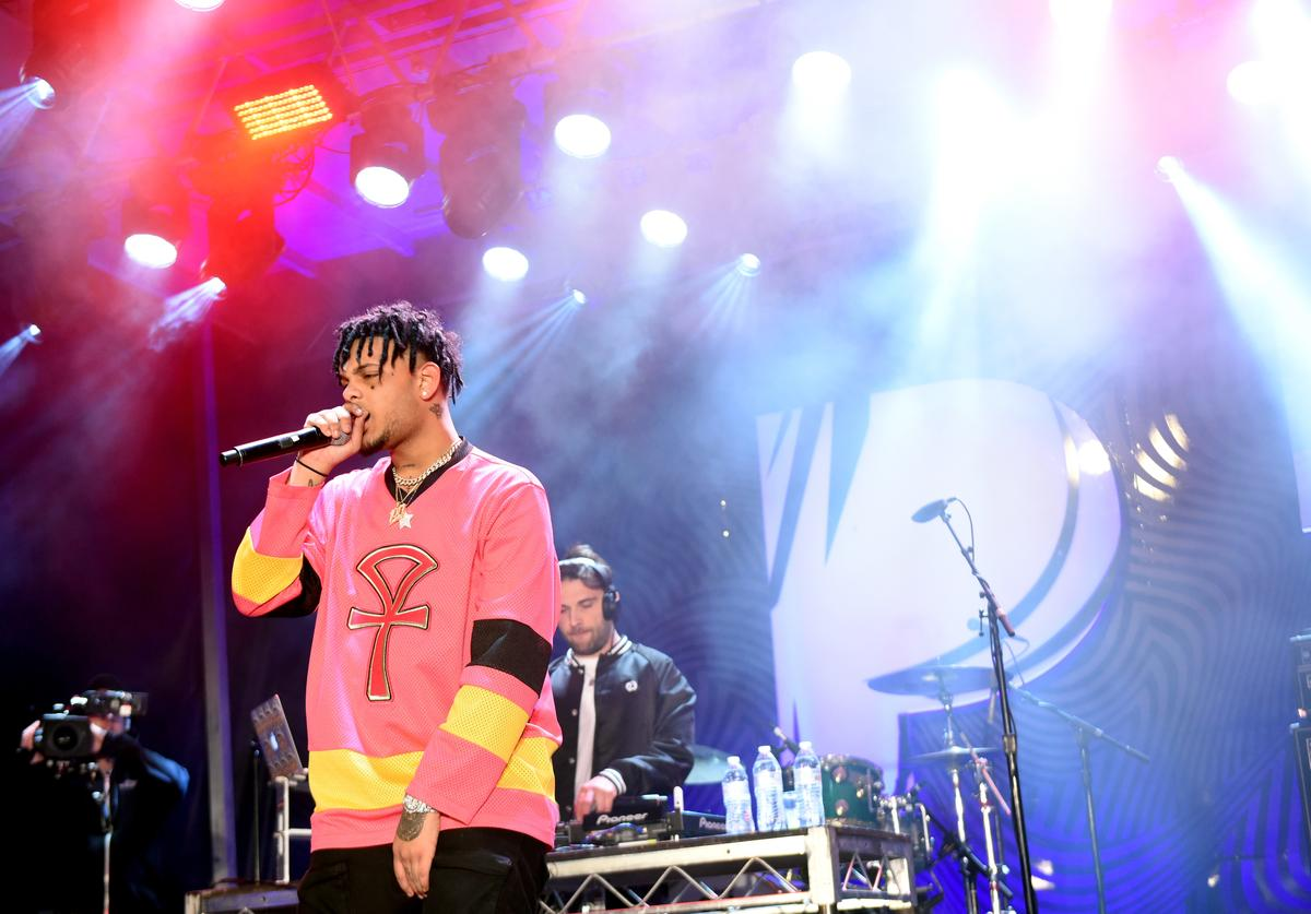 Smokepurpp performs onstage during Pandora SXSW 2018 on March 15, 2018 in Austin, Texas