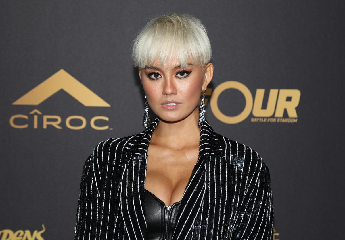 Agnez Mo attends The Four cast Sean Diddy Combs, Fergie, and Meghan Trainor Host DJ Khaled's Birthday Presented by CÎROC and Fox on December 2, 2017 in Beverly Hills, California