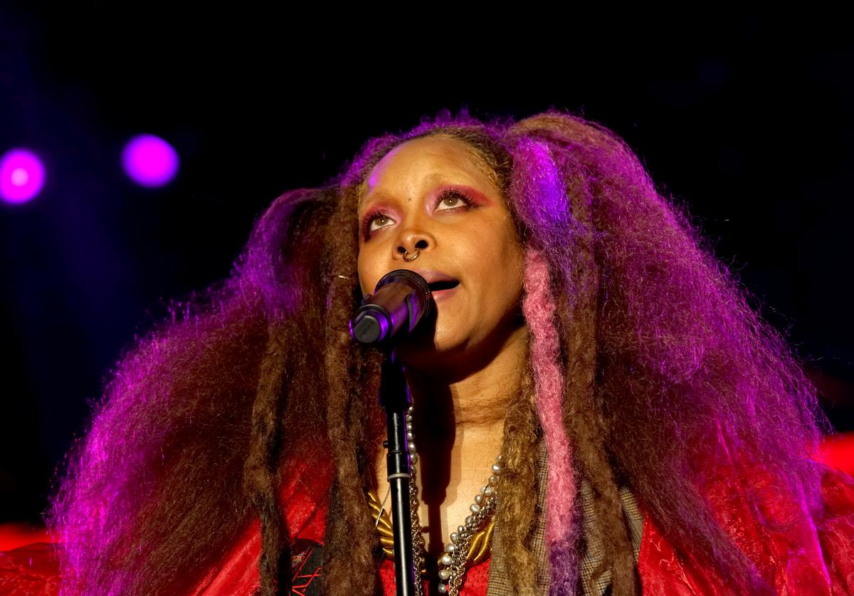 Erykah Badu performs onstage during the 2018 Essence Festival presented By Coca-Cola - Day 1 at Louisiana Superdome on July 6, 2018 in New Orleans, Louisiana