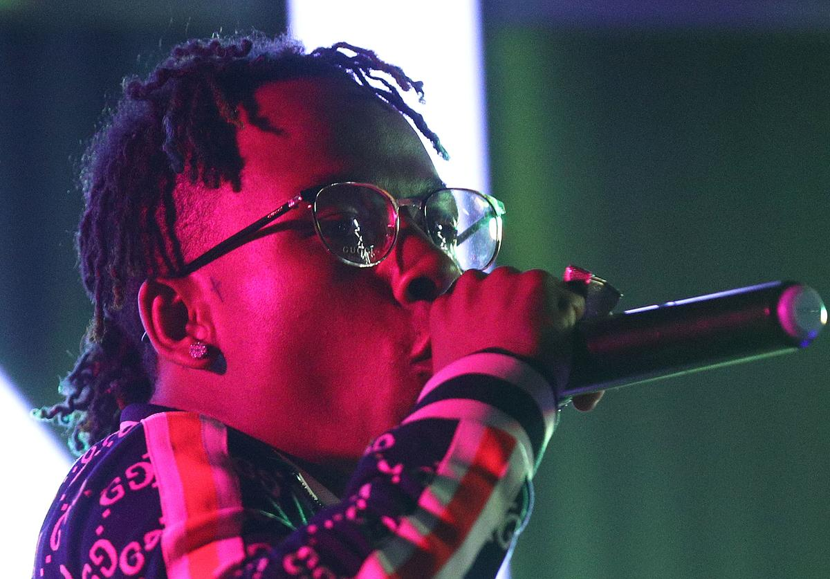 Rich The Kid performs during boohooMAN Presents Illuminate Festival at At The P on June 11, 2018 in Los Angeles, California