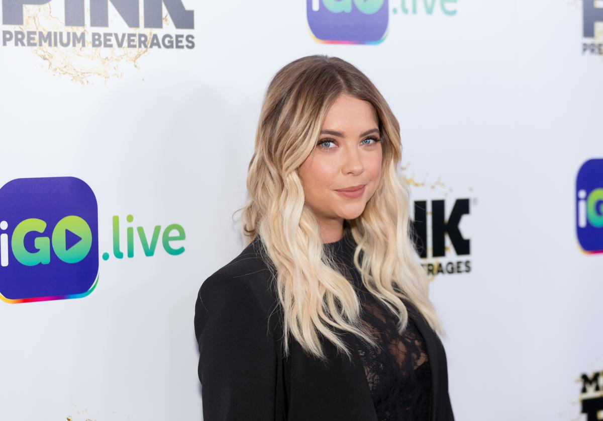 Actress Ashley Benson arrives for the iGo.live Launch Event at the Beverly Wilshire Four Seasons Hotel on July 26, 2017 in Beverly Hills, California.
