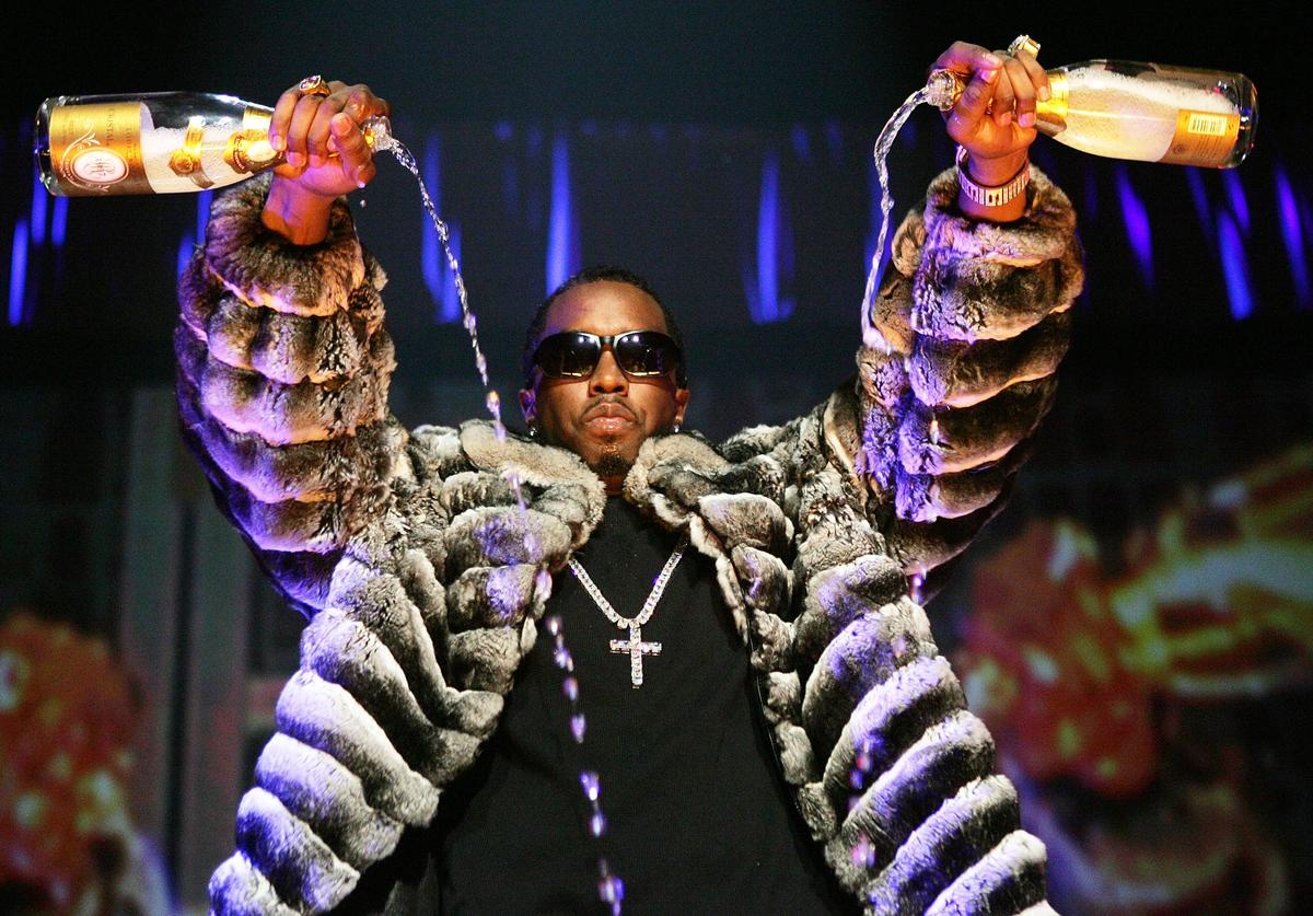 Sean 'P. Diddy' Combs performs onstage during Power 105.1's 'Powerhouse 2005: Operation Takeover' at the Continental Airlines Arena on October 27, 2005 in East Rutherford, New Jersey