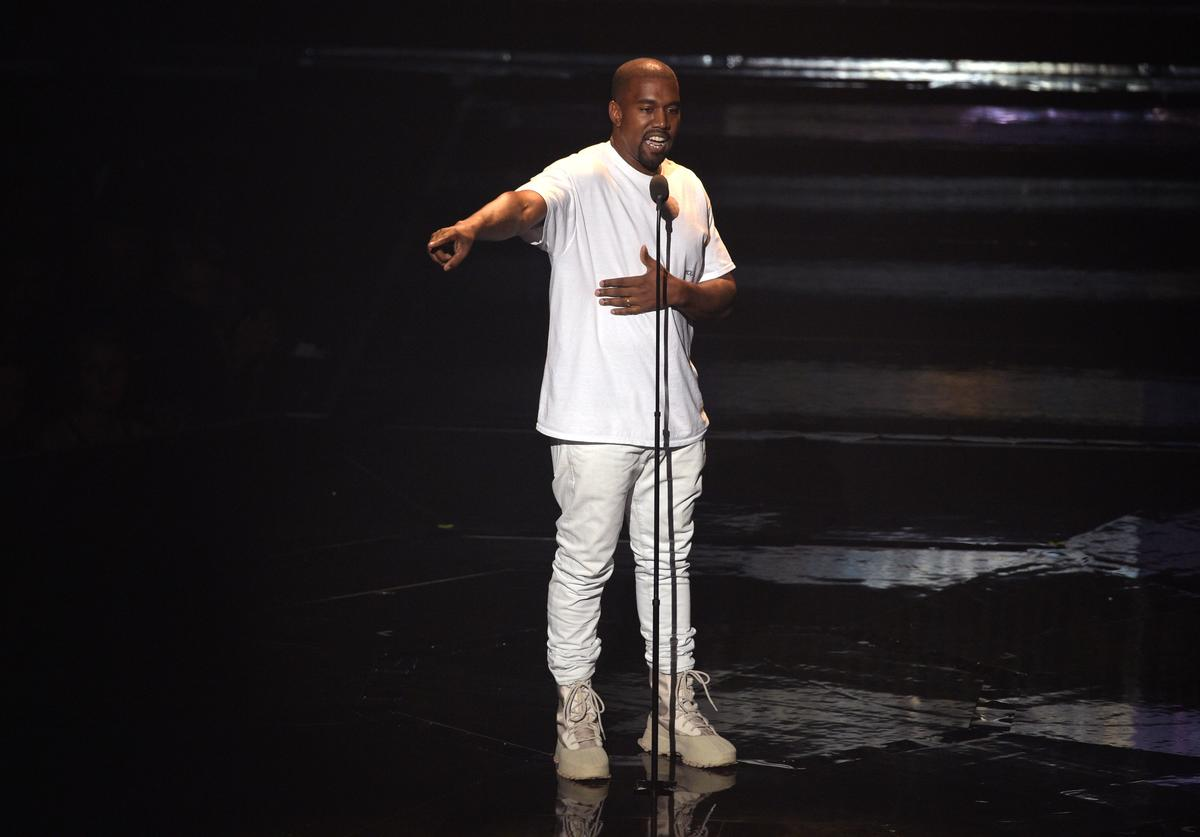 Kanye West performs onstage during the 2016 MTV Video Music Awards at Madison Square Garden on August 28, 2016 in New York City