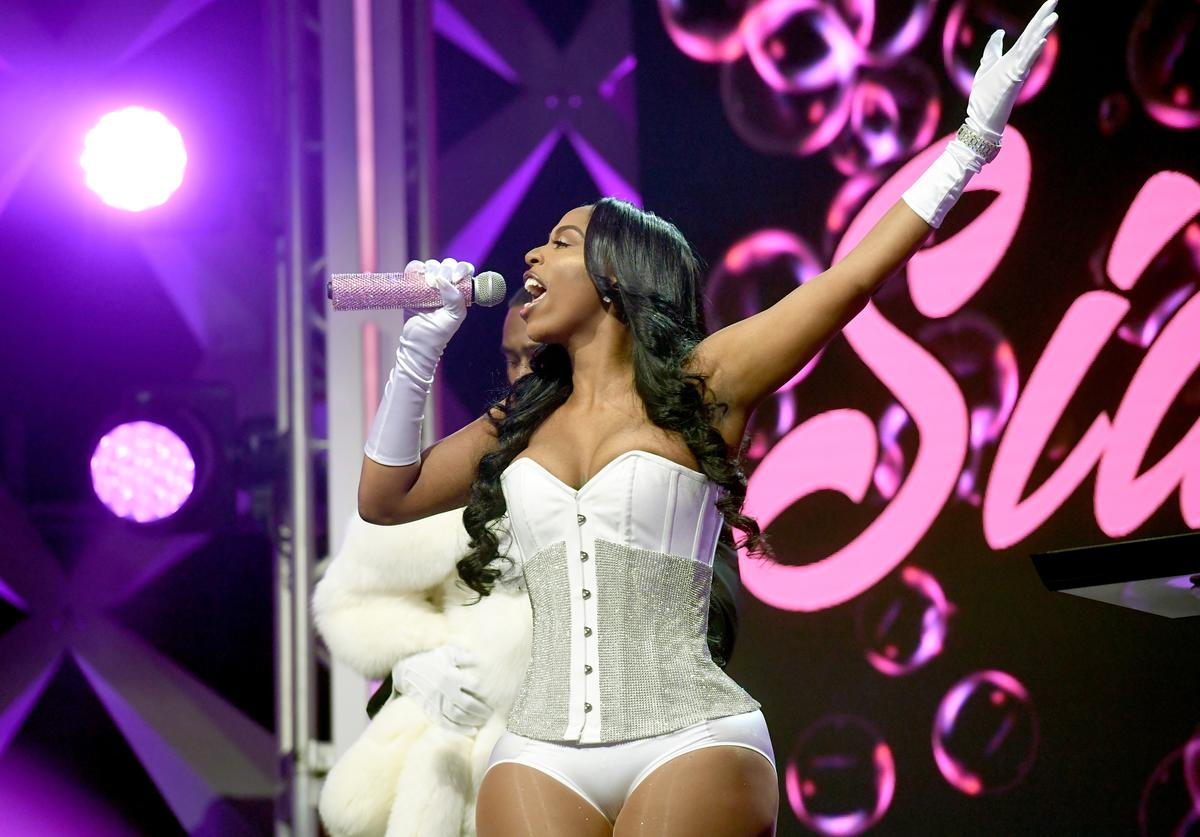 Kash Doll performs onstage during BET's Social Awards 2018 at Tyler Perry Studio on February 11, 2018 in Atlanta, Georgia